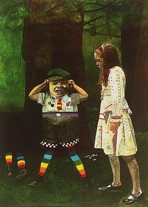 Alice in Wonderland Tate: But isn't it old! Tweedledum cried, by Peter Blake