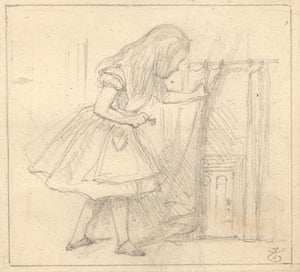 Alice in Wonderland Tate: Tenniel's drawings for illustrations of Lewis Carroll's Alice