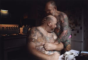 Taylor Wessing Prize 2011: The Embrace, from the series Hot Ink 2010 by Jonathan May