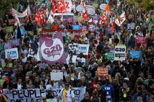 Anti G20: anti-globalization demonstration in Nice