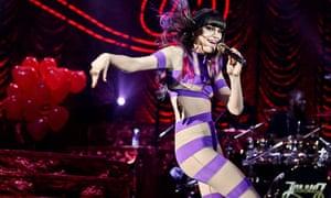 Jessie J Performs At HMV Hammersmith Apollo