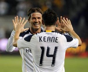 Beckham: San Jose Earthquakes v Los Angeles Galaxy