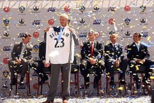 Beckham: David Beckham Announced As An LA Galaxy Player