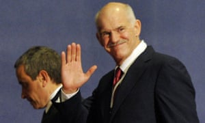George Papandreou arrives in Cannes 2