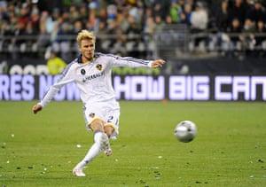 beckham3: MLS Cup - Los Angeles Galaxy v Real Salt Lake