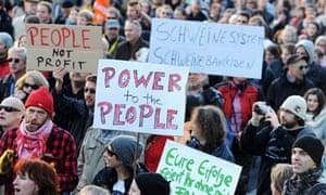 Occupy Wall Street in Frankfurt