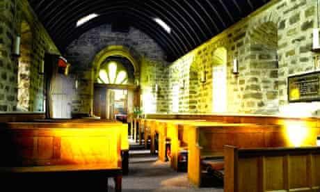 Healy church interior