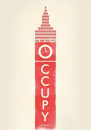 Occupy posters: Occupy London
