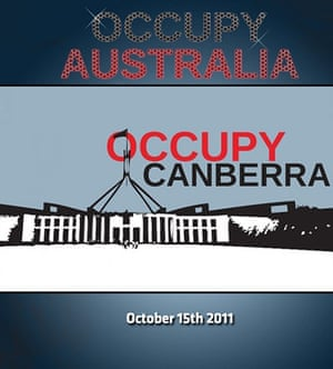 Occupy posters: Occupy Canberra