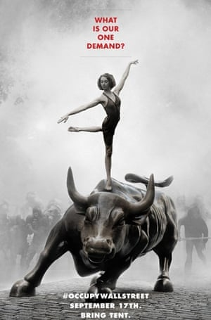Occupy posters: Occupy Wall Street