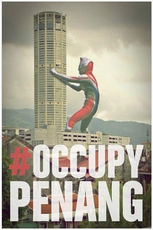 Occupy posters: Occupy Penang