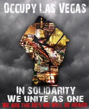 Occupy posters: Occupy Las Vegas