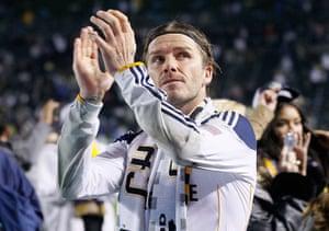 Beckham MLS: 2011 MLS Cup - Houston Dynamo v Los Angeles Galaxy