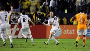 Beckham MLS: Todd Dunivant, Mike Magee, David Beckham, Danny Cruz