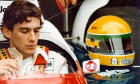 A still from the documentary Senna