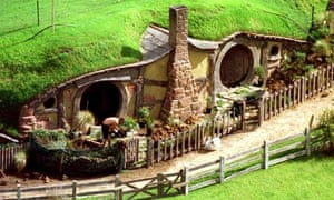 Hobbit homes Lord of the Rings