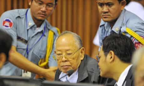 Cambodia's UN-backed war crimes tribunal