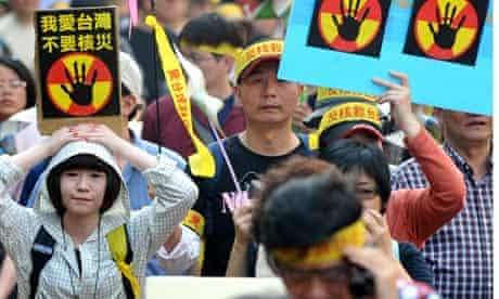 anti-nuclear protest in taiwan