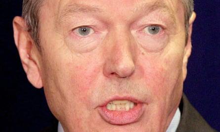 Alan Johnson bodyguard allegations