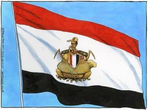 23.11.11: Steve Bell on Egypt's turmoil