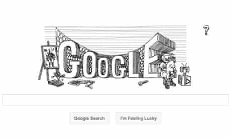 Google doodle marking 60th anniversary of Stanislaw Lem's first book publication