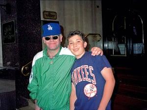 Richard Simpkin photos: Richard Simpkin with Elton John in 1990