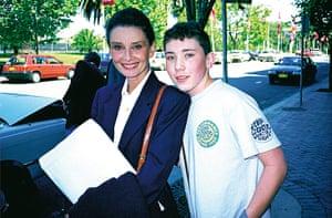 Richard Simpkin photos: Richard Simpkin with Audrey Hepburn in 1991