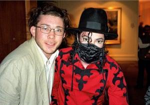 Richard Simpkin photos: Richard Simpkin with Michael Jackson in 1996