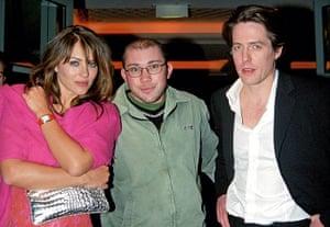 Richard Simpkin photos: Richard Simpkin with Elizabeth Hurley and Hugh Grant in 1999