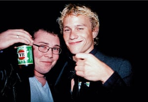 Richard Simpkin photos: Richard Simpkin with Heath Ledger in 1999
