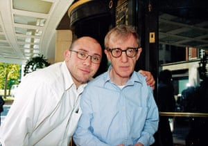 Richard Simpkin photos: Richard Simpkin with Woody Allen in 2001