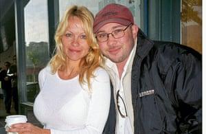Richard Simpkin photos: Richard Simpkin with Pamela Anderson in 2004