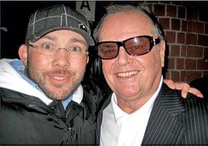 Richard Simpkin photos: Richard Simpkin with Jack Nicholson in 1997