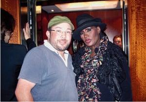 Richard Simpkin photos: Richard Simpkin with Grace Jones in 2009