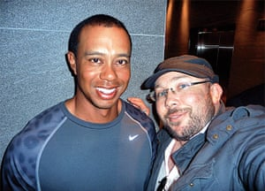 Richard Simpkin photos: Richard Simpkin with Tiger Woods in 2011