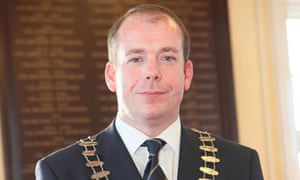 Darren Scully resigned from his post as mayor of Naas