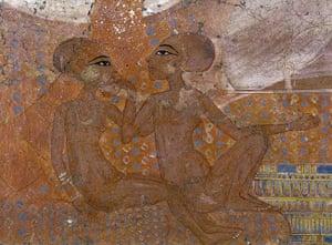 Ashmolean Museum: Princesses (detail)