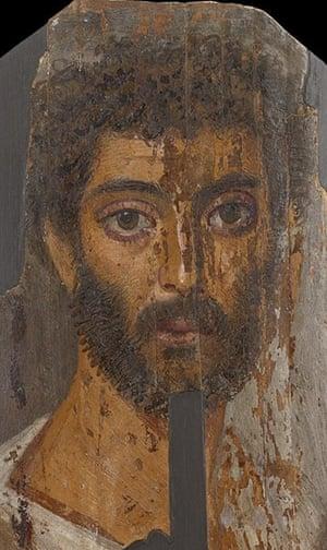 Ashmolean Museum: Mummy Portrait