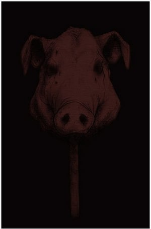 Lord of the Flies covers: Pig's Head, an entry in the Lord of the Flies cover competition