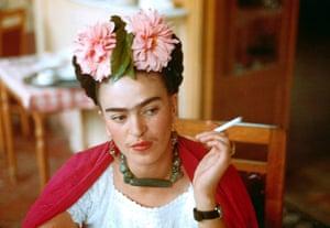 Ten best moustaches: Frida Kahlo