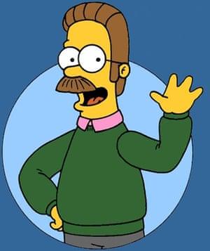 Ten best moustaches: Ned Flanders