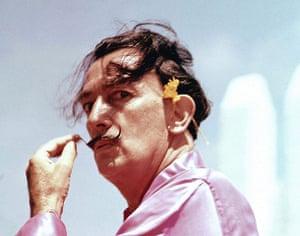 Ten best moustaches: Salvador Dali, Spain - 1950s