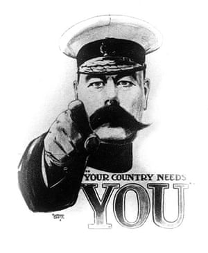 Ten best moustaches: Lord Kitchener