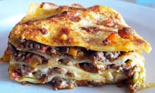 Prawn Cocktail Years recipe lasagne