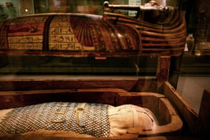 Egyptian gallery: New Egyptian galleries at The Ashmolean, Oxford