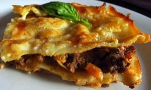 Felicity's perfect lasagne