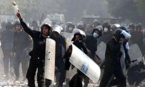 Protests in Cairo, Egypt - 23 Nov 2011