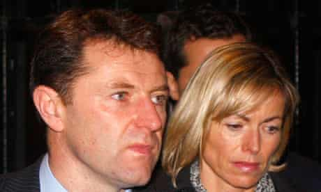 Gerry and Kate McCann leave the Leveson Inquiry