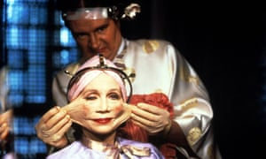 Katherine Helmond and Jim Broadbent in Terry Gilliam's Brazil