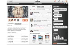 Zeebox iPad app